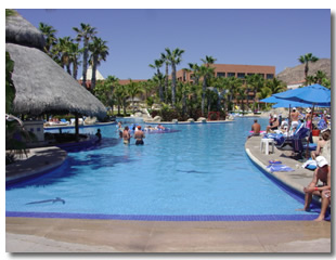 Melia Cabo Real Beach and Golf resort in Cabo San Lucas